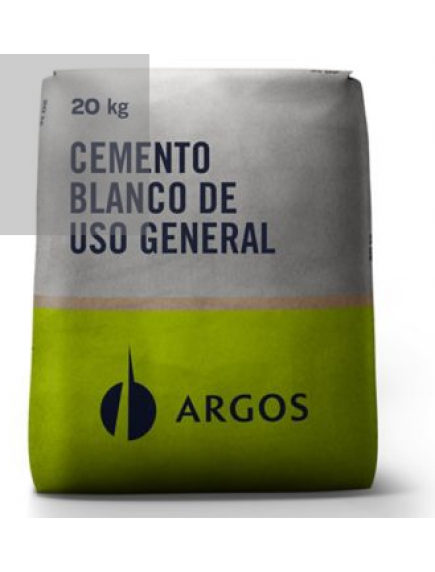 CEMENTO ARGOS BLANCO 20 KL