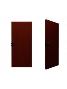Puerta Solida Cedro 0.60 Cm x 2.40 Mt; TABLEMAC. con marco