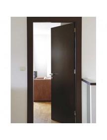 Puerta Solida Wengue 0.90 Cm X 2.40 Mt; TABLEMAC. con marco