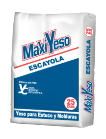 Yeso Maxiyeso Escayola 25 kg