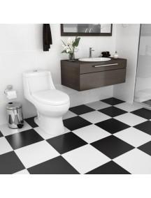 Piso Troyano blanco 31.5 x 31.5 caja 1.5 mt2
