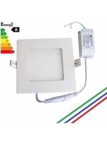 Sistema de  Iluminación Led 3W Cuadrado Blanco lsc3-43b 6500k