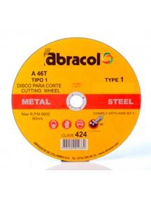 Disco corte 14 PG X 1/8 927 Abracol
