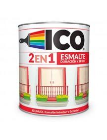 Esmalte Icomax Verde Esmeralda 1/4 Gl