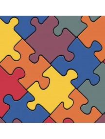 Piso vinilo puzzle