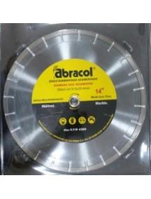 Disco diamantado segmentado 14 PG Marmol Abracol