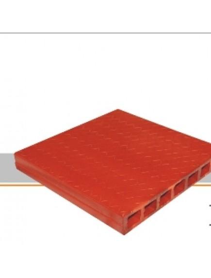 Tableta 30 X 30 Naranja Vitrificada  Grafilada