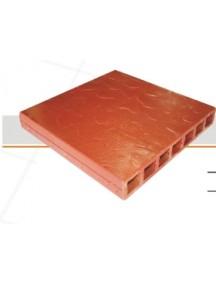 Tableta 30 X 30 Vitrificado Roja Cuarzo