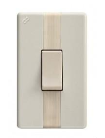 Interruptor sencillo beige 901 abitare