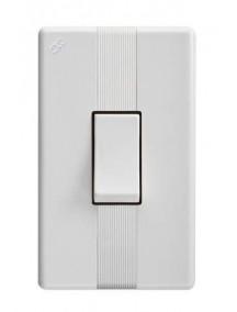 Interruptor sencillo blanco 1901 abitare