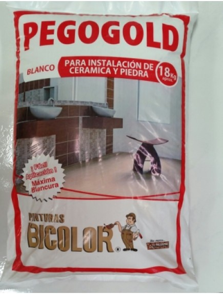 PEGO GOLD BLANCO 18 KL