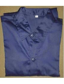 Camisa Azul Oscuro Talla M Manga Larga