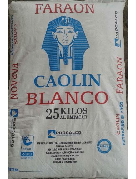 CAOLIN BLANCO 25 KG