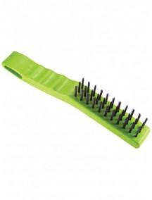 Cepillo Acero 4 x 11 M/Plástico Caribe